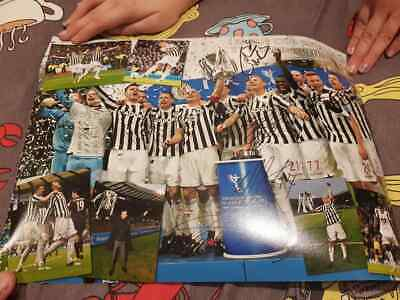 Multi Signed St Mirren League Cup Final Winners A3 Photo Poster