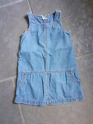 Gap Toddler Girls Denim Pinny Dress age 3yrs