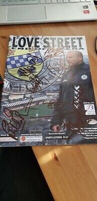 Multi Signed Last Game At Love Street St Mirren Programme