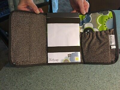 Thirty One Fold It Up Organizer Notepad in Harvest Floral Flowers