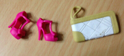 NEW Barbie Style Glam Luxe Doll Pink High Heel Gladiator Sandals Shoes