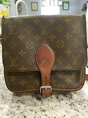 Authentic Vintage LOUIS VUITTON Cartouchiere PM Shoulderbag Crossbody