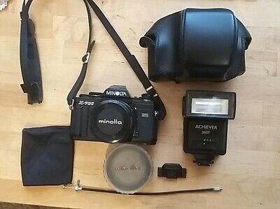 Minolta X-700 MPS with 50mm f1.4 Rokkor-X Lens and Accessories