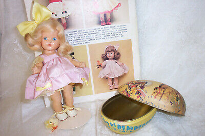 Rare 1950 PE Vogue Strung GInny #8-12D Patty / EASTER Doll ~ Perfection !
