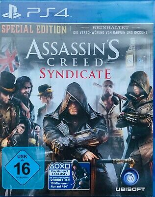 Assasins Creed Syndicate Sony Playstation 4 Spiel *OVP*