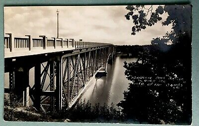 Hurricane Deck Bridge Over Lake Of The Ozarks  Vintage Photo Postcard