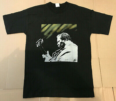 B.b. King Bb King New Zealand Tour 1991 T-Shirt Nz 100% Cotton Size L Official
