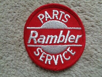 Vintage Rambler Parts / Service Patch - New! 3 Inches