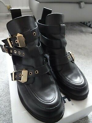 Ladies Black Buckle Shoes From Office Uk Size 5 Eu Size 38
