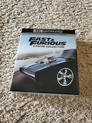 Fast & Furious: 8-Movie Collection (4K UHD Blu-Ray, 2019)