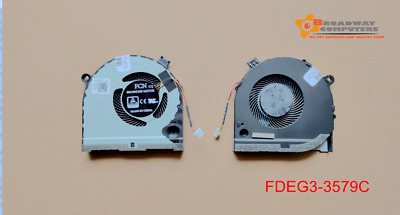 CPU Cooling Fan for DELL G3 G3-3579 G3-3771 G5 15 5587 P75F Series