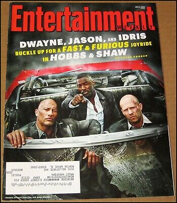 7/5/2019 Entertainment Weekly Hobbs & Shaw Dwayne The Rock Johnson Idris Elba