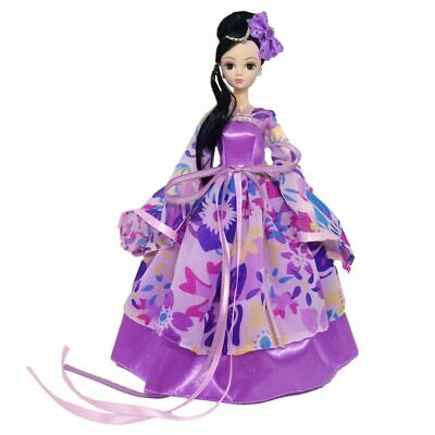 New Barbie Doll Clothes - Chinese Princess Mulan Dress Evening Outfit Clothing.