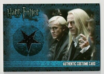 Artbox Harry Potter Costume Prop Card Lucius Malfoy C5 003/500 Deathly Hallows 1