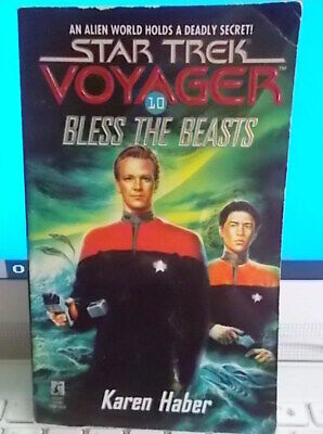 STAR TREK VOYAGER BLESS THE BEASTS : # 10 (Karen Haber) 1996