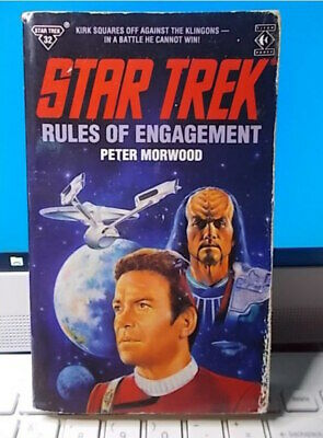 STAR TREK    RULES OF ENGAGEMENT   Peter Morwood Titan Books 1990 #32