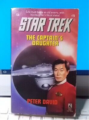 STAR TREK   THE CAPTAIN'S DAUGHTER    Peter David Pocket Books 1995