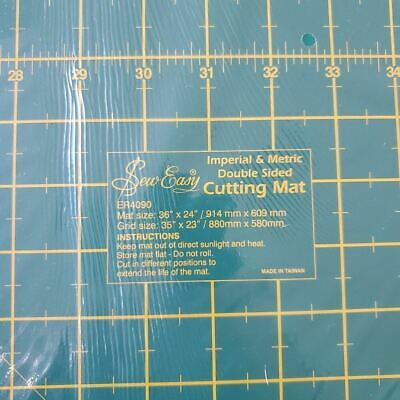 Sew Easy Cutting Mat 900 mm  x 600 mm Large Size - Self Healing