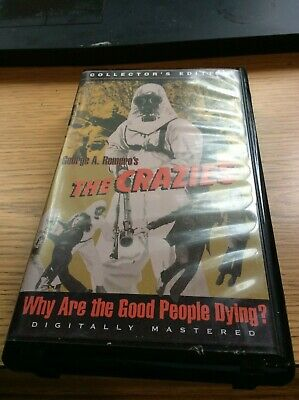 The Crazies (VHS, 1998, Collectors Edition) George A. Romero Lane Carroll