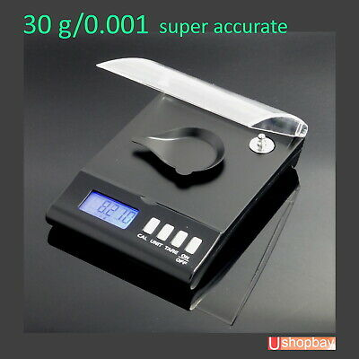 Diamond High Precision Pocket Jewellery Scale Digital Milligram 30g/0.001 AU
