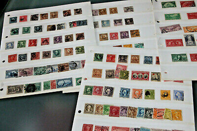 Usa - Early Period Collection In Stocksheets - Mint And Used