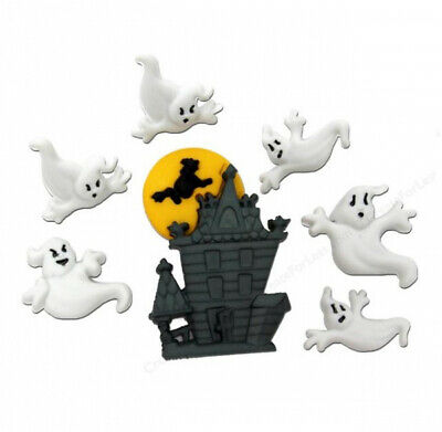 Dress it Up Buttons - Beware Of Ghosts