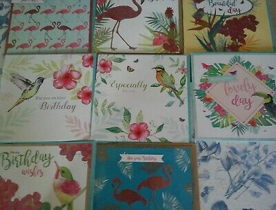 40 Tropical Cards, Wholesale Joblot Greeting Cards