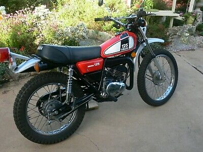 Yamaha DT125B Collector, Vintage, VMX, Trail Bike, Motorcycle