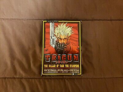 Trigun: The Complete Series (DVD, 2013, 4-Disc Set)