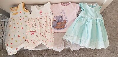 💕Baby Girls Clothes Bundle 0-3 Months. Next, Mothercare, Mini Club And Disney