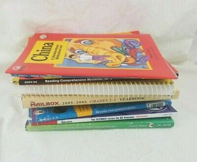 Lot of 10 Homeschooling 3rd Grade - Plus 1st and 2nd Grade Resources