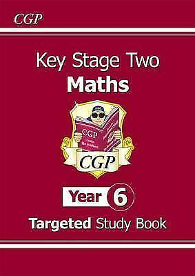KS2 Maths Targeted Study Book - Year 6 by CGP Book