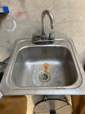 Vintage Eklay Stainless Steel Small Sink