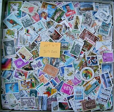 300gms of WORLD KILOWARE STAMPS OFF PAPER NO GB FREE POST