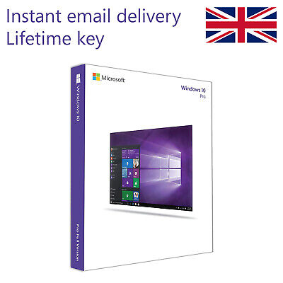 Genuine Windows 10 Professional License Key - 32/64BIT - Instant Delivery