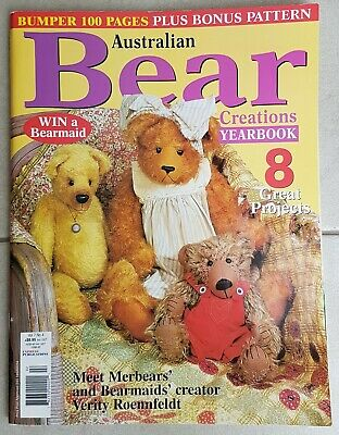 Australian Bear Creations Yearbook - Vol 7 No 4 (2001) - patterns included