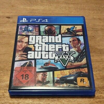 Grand Theft Auto V • PS4 • GTA 5 • Sony PlayStation 4