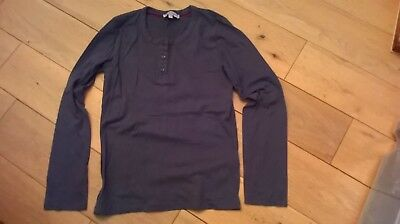 Girls Indigo collection from M&S Grey long sleeved top - 9-10 Years
