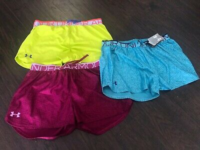 Girls Under Armour Shorts Size Youth XL Lot