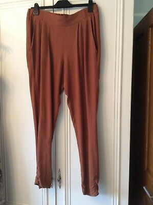 Ladies river island harem summer trousers size 12