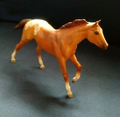 Breyer paddock pals Thourghbred stallion 1635 Appaloosa Red Dun #1