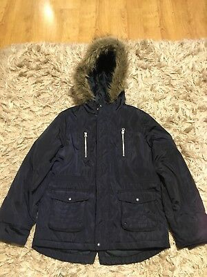 Howick Junior Boys Winter Jacket With Fur 11-12 Yesrs