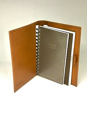 COACH brown leather address book & planning diary cover - Brand New w/o Tags