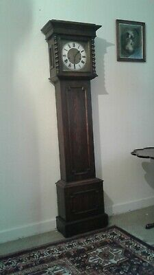 Solid Oak Long Case 8 Day Clock *Westminster Chimes*