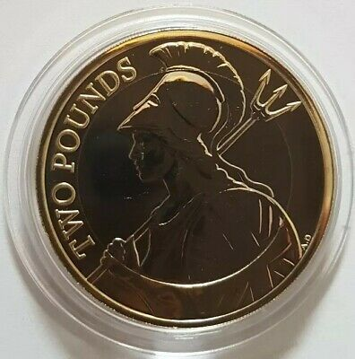 2020 Royal Mint The Britannia Two Pounds £2 coin Brilliant Uncirculated BUNC UK