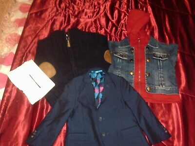 3-Good Cond-Next,Mothercare  Boys Quality Warm  Jackets  Bundle Size 3/4  Year