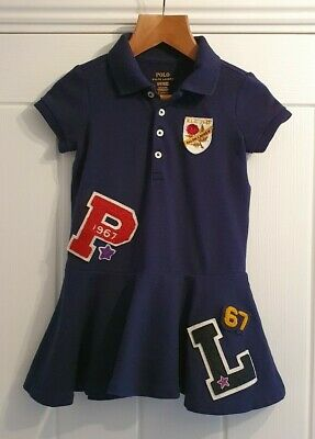Ralph Lauren Girls Polo Tennis Dress. Age 2 years
