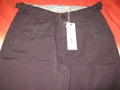 GIRLS  CHOCOLATE TROUSERS  AGE 10 JOHN ROCHA by DEBENHAMS BRAND NEW WITH TAG