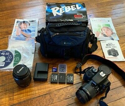 Canon EOS Rebel SL1 18.0MP Digital SLR Camera KIT W/ 2 LENS (18-55, 28-105) &BAG