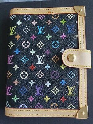 Auth LOUIS VUITTON Multicolor Agenda Day Planner